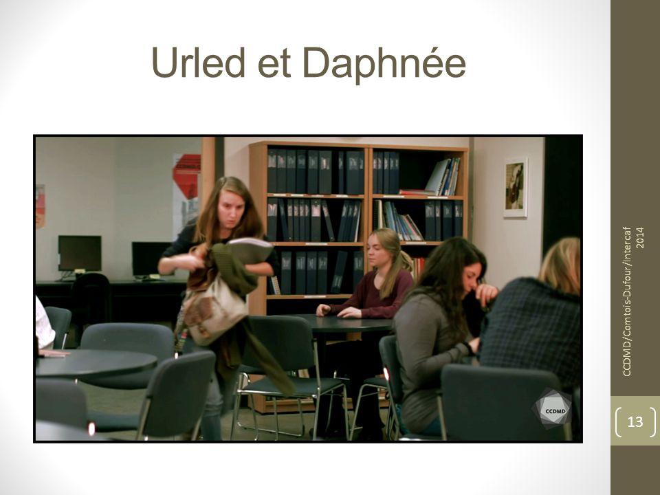 Urled et Daphnée CCDMD/Comtois-Dufour/Intercaf 2014 13