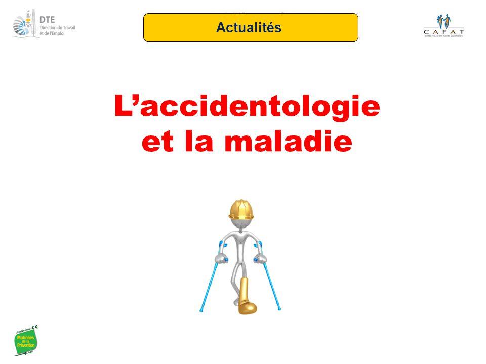 L'accidentologie et la maladie Actualités