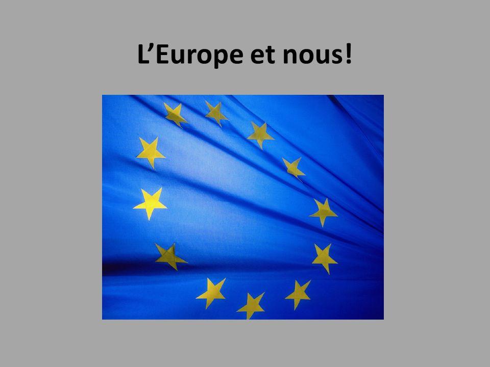 2.L'Europe: présent… et futur.Comment fonctionne l'Europe à ce jour.