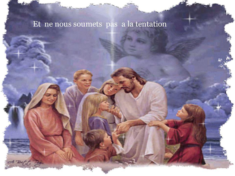Comme nous pardonnons aussi A ceux qui nous ont offenses