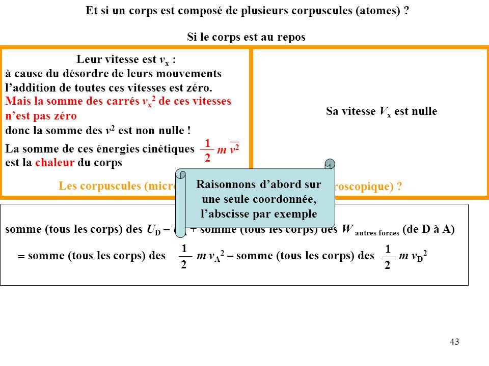 43 Et si un corps est composé de plusieurs corpuscules (atomes) .
