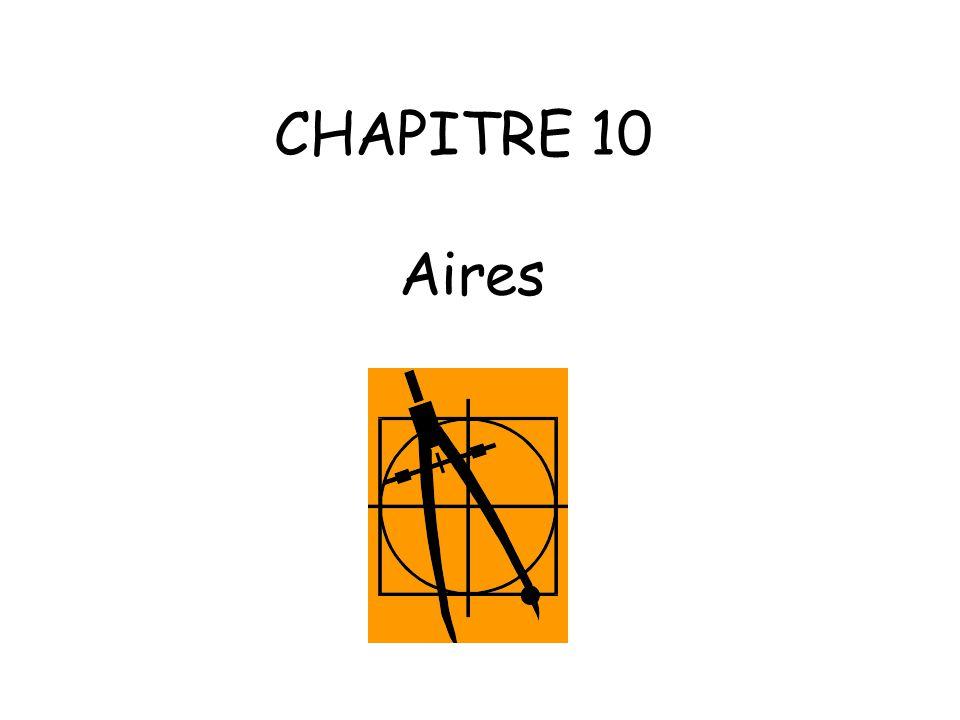 CHAPITRE 10 Aires