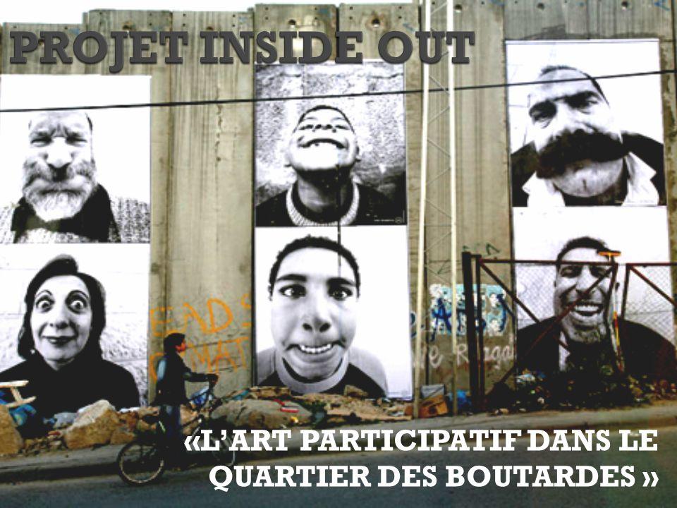 «L'ART PARTICIPATIF DANS LE QUARTIER DES BOUTARDES »