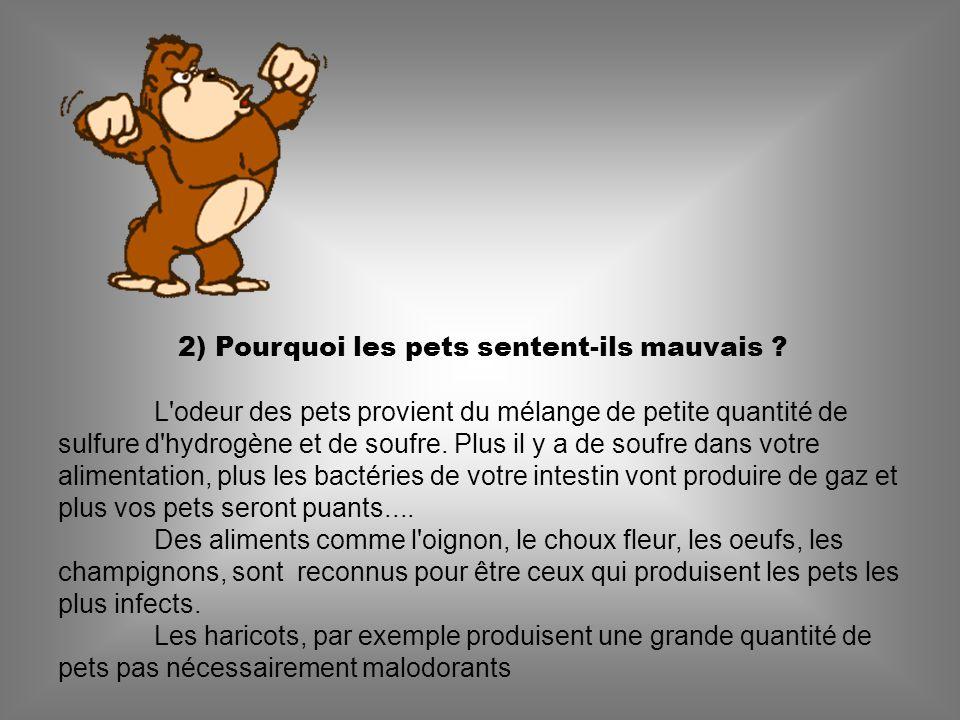 12) Est-il possible d enflammer un pet .La réponse est oui !!.