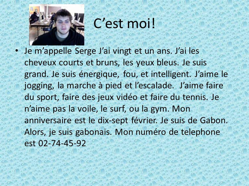 Jérôme Bernard Voici mon jumeau Jérôme.Il a 21 ans.