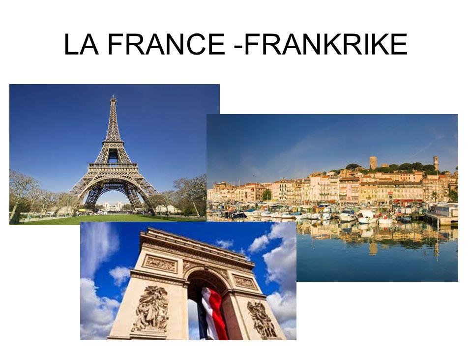 LA FRANCE -FRANKRIKE