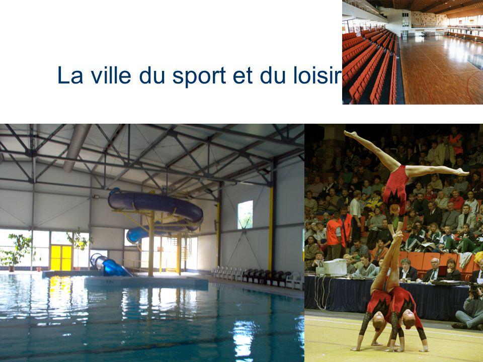 La ville du sport et du loisir
