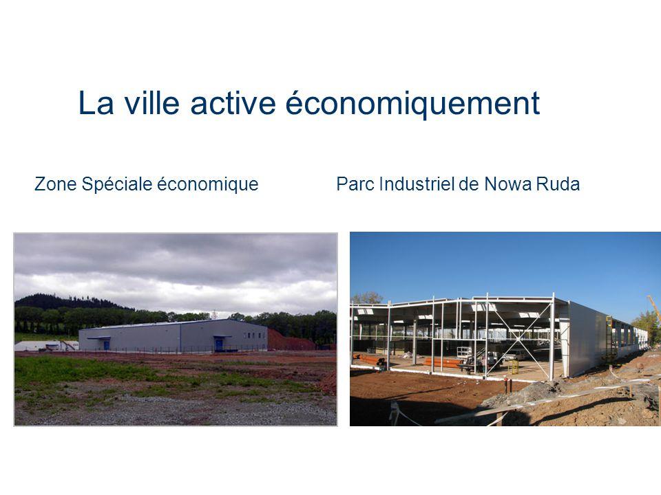 La ville active économiquement Zone Spéciale économique Parc Industriel de Nowa Ruda