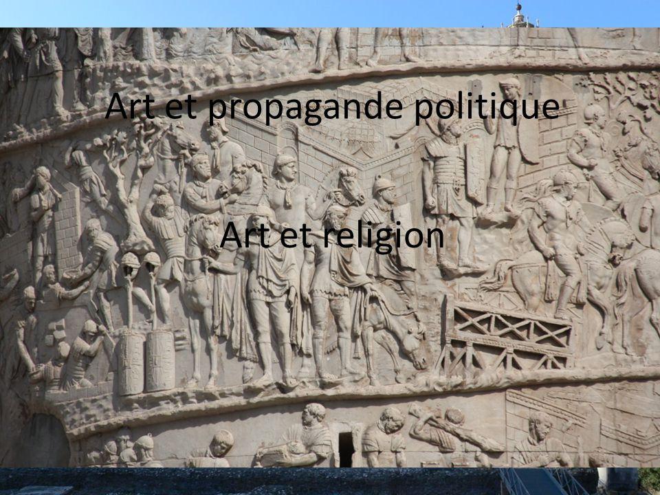 Art et propagande politique Art et religion