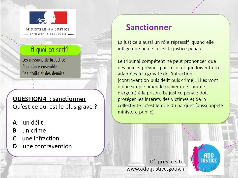 D'après le site www.ado.justice.gouv.fr QUESTION 25: les jurés Peut-on refuser d'être juré .