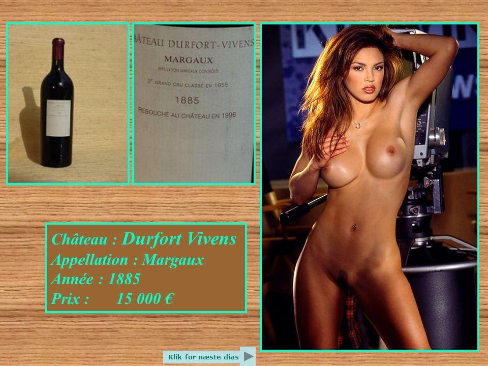 Château : Beychevelle Appellation : Saint Julien Année : 1898 Prix : 14 000 € Klik for næste dias