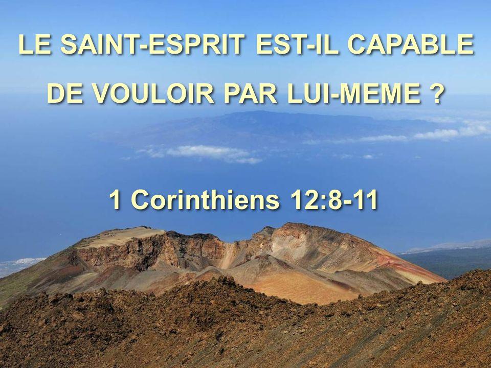 A l'un est donné par l'Esprit une parole de sagesse, à un autre une parole de connaissance, par le même Esprit, à un autre, la foi, par le même Esprit, à un autre