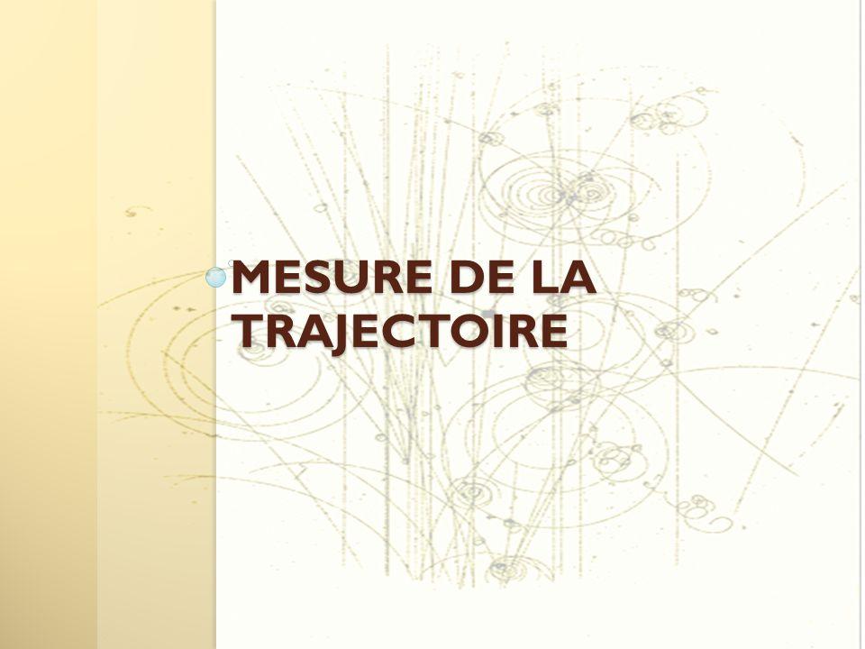MESURE DE LA TRAJECTOIRE