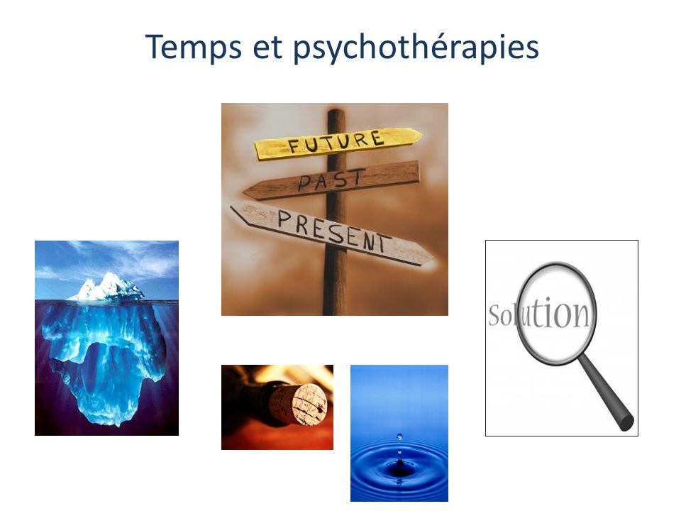 Temps et psychothérapies