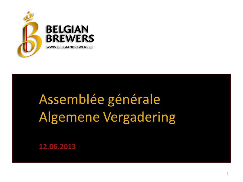 Assemblée générale Algemene Vergadering 12.06.2013 1