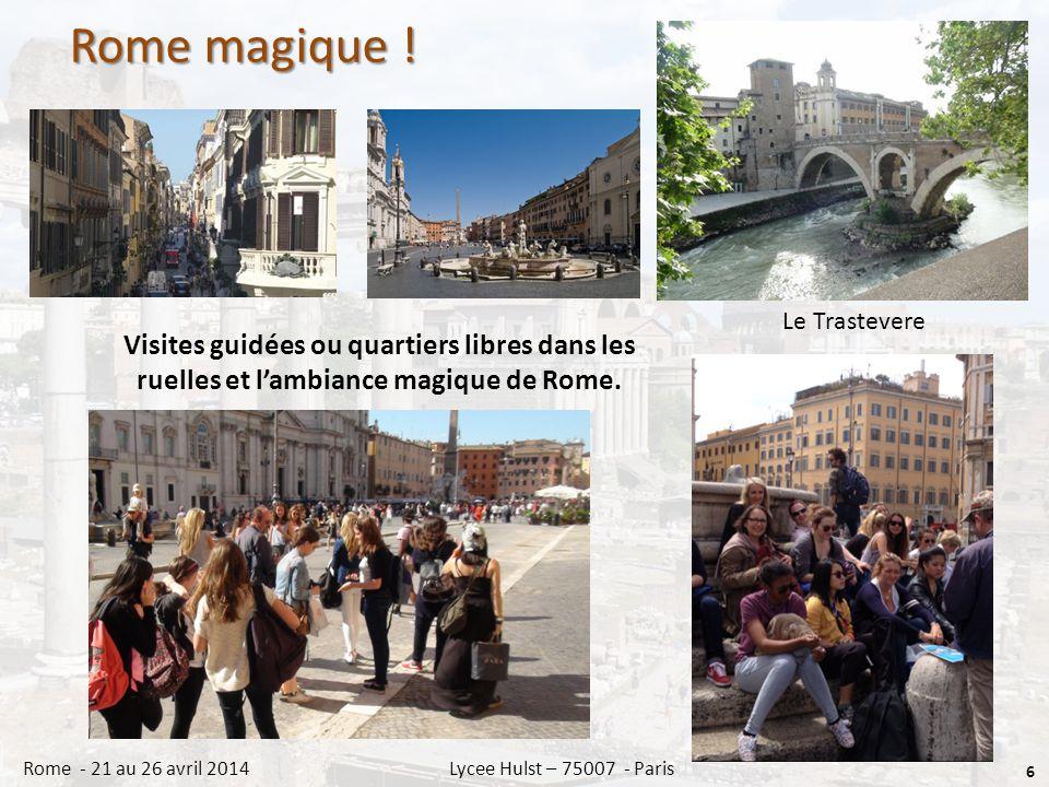 Rome magique .