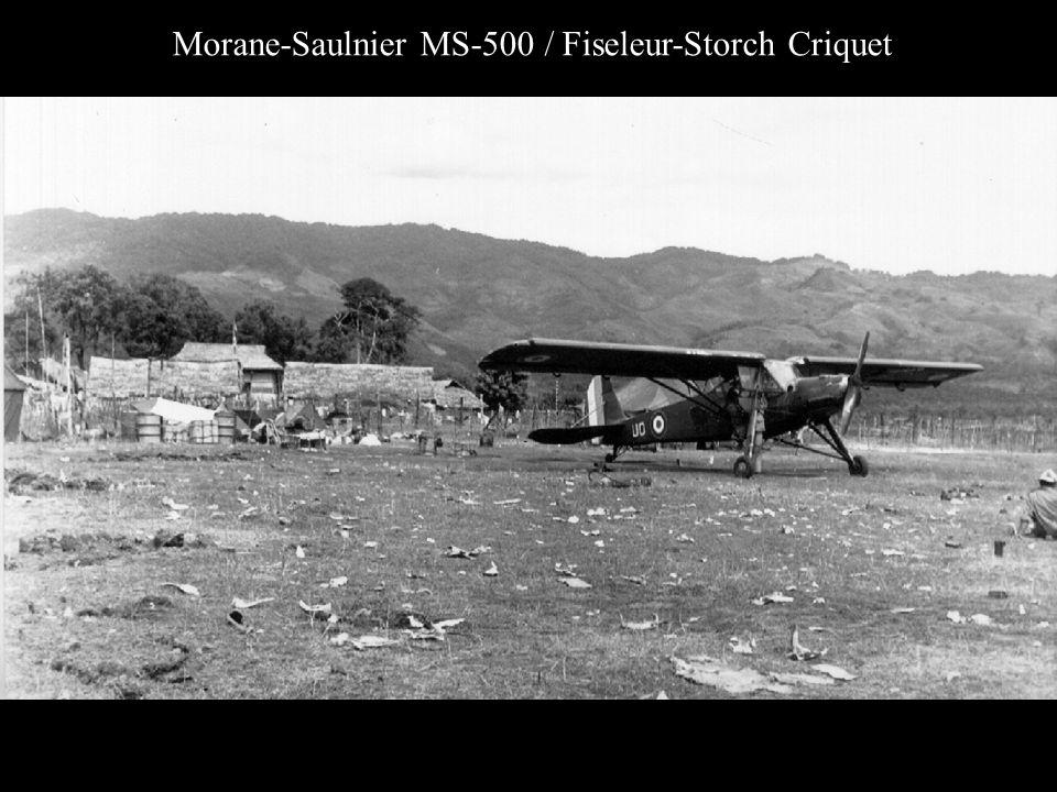 Morane-Saulnier MS-500 / Fiseleur-Storch Criquet