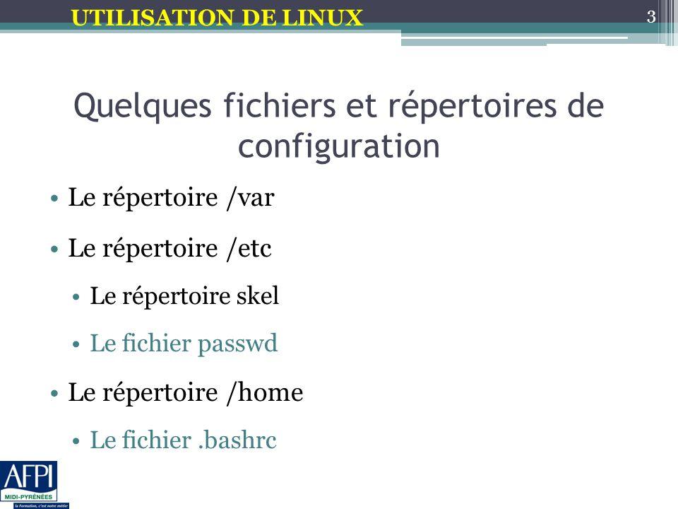UTILISATION DE LINUX #!/bin/bash For i in * Do echo $i done #!/bin/bash For i in * Do echo $i done Exemples de boucle FOR #!/bin/bash For i in 1 2 3 Do echo $i done #!/bin/bash For i in 1 2 3 Do echo $i done 14 #!/bin/bash #compte les rep.