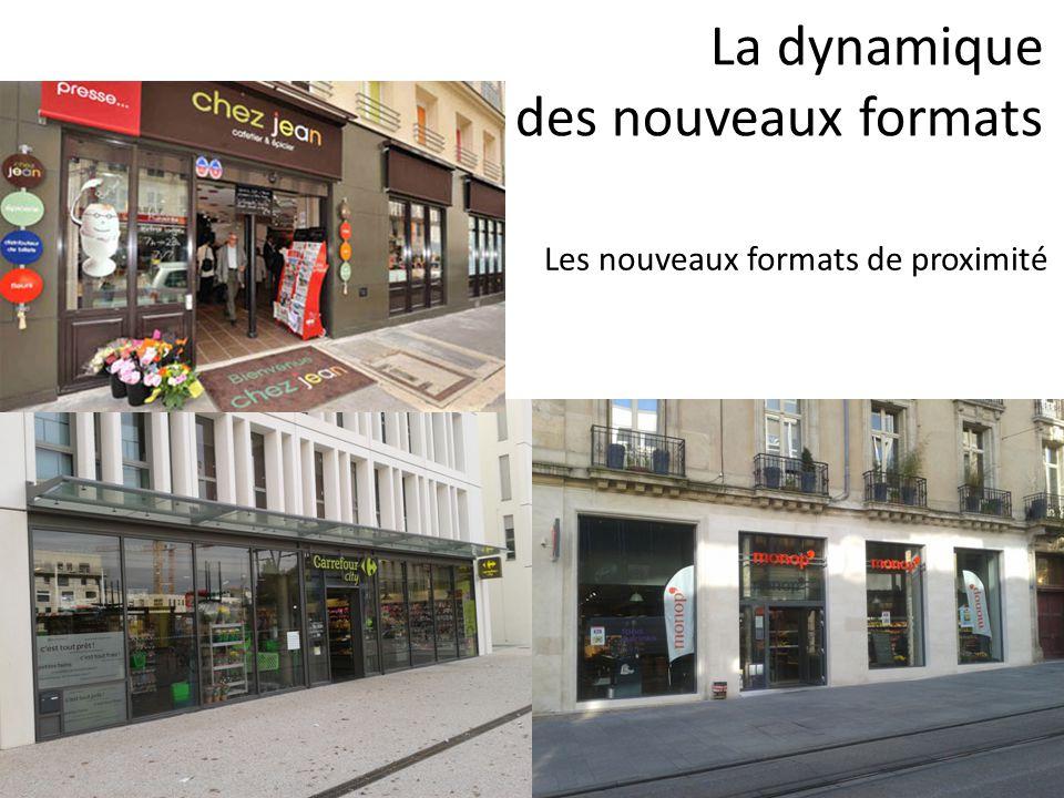 La dynamique des nouveaux formats Les nouveaux formats de proximité