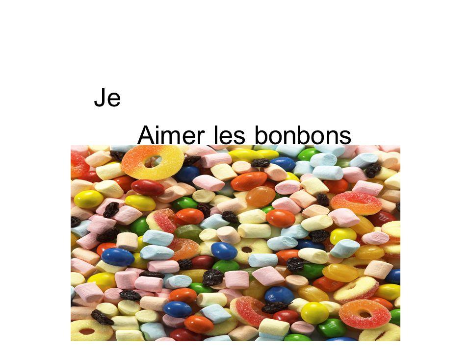 Je Aimer les bonbons