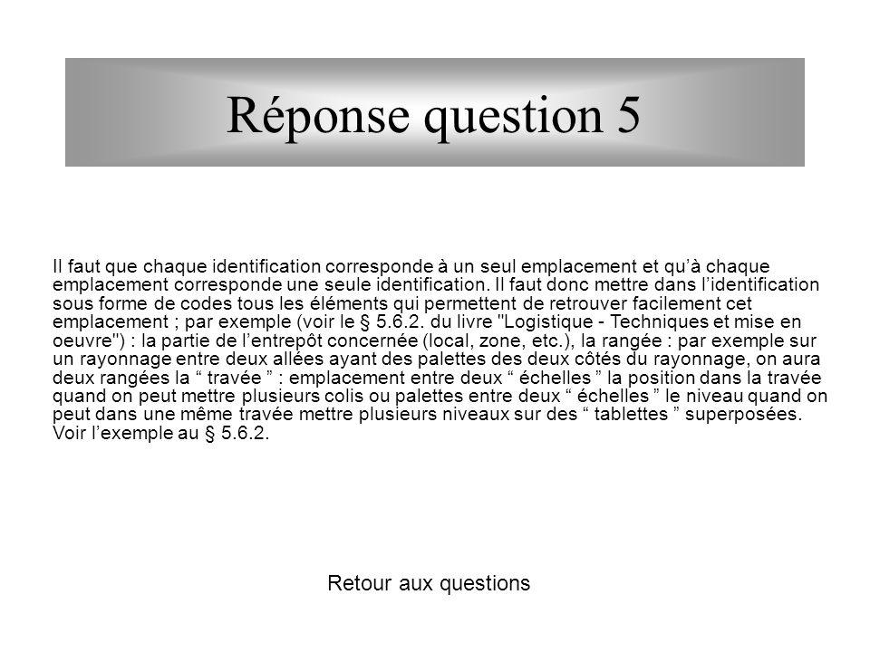 Questions 6 - Après la lecture complémentaire ci-dessus, combien peut-on charger de palettes Euro dans une remorque standard (savoyarde) 5 - Après la