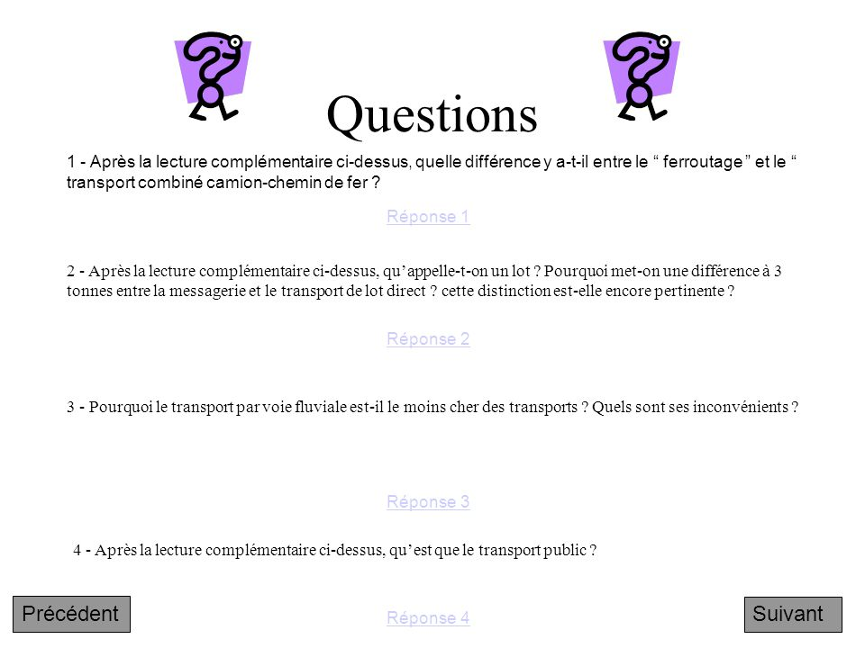 Questions 2 - Après la lecture complémentaire ci-dessus, qu'appelle-t-on un lot .