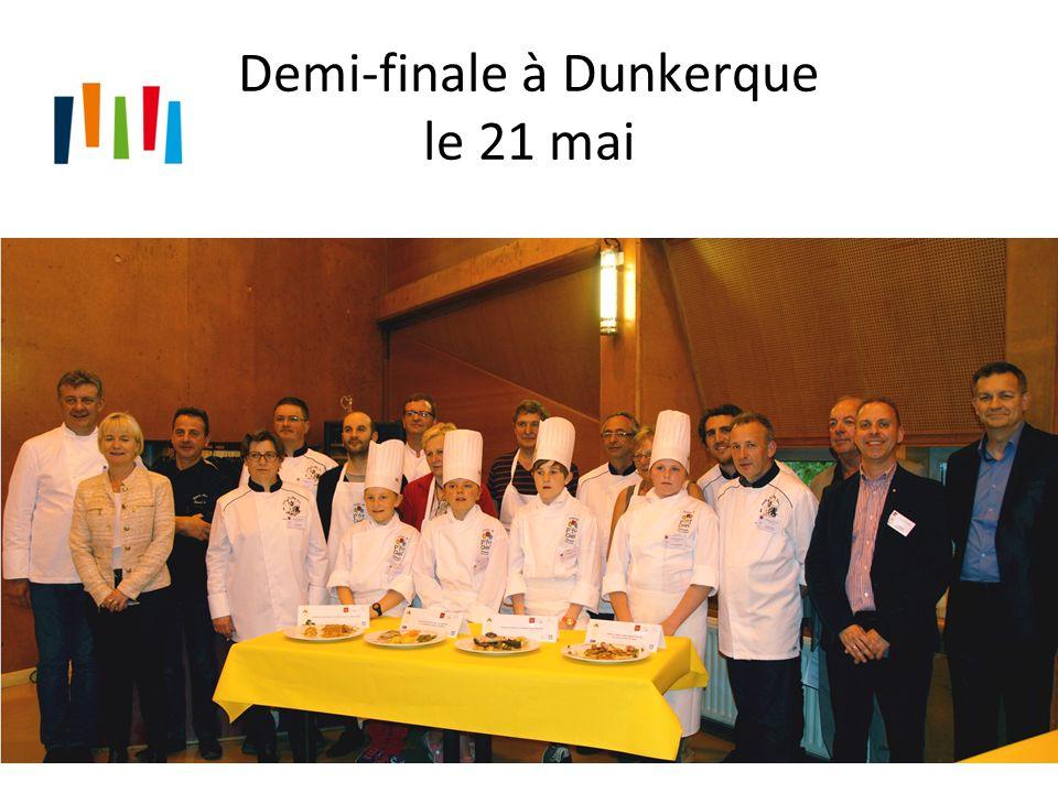 Demi-finale à Dunkerque le 21 mai