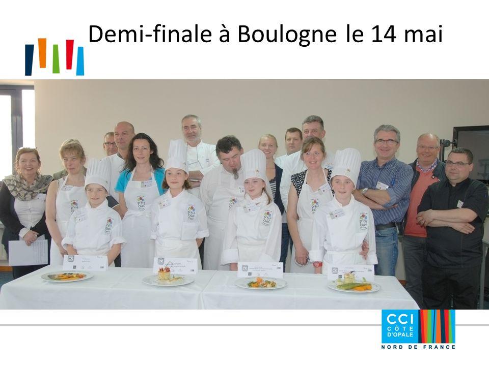 Demi-finale à Boulogne le 14 mai
