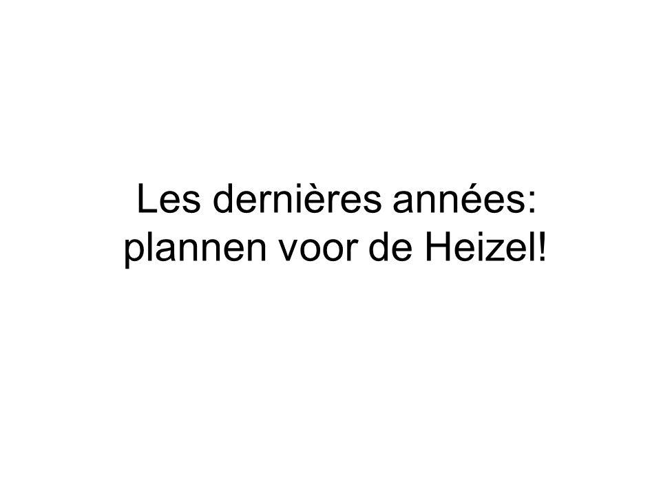 3 PLANS 1.2007: PDI (Région) 2. nov. 2007: Charter (Région + la Ville) 3.