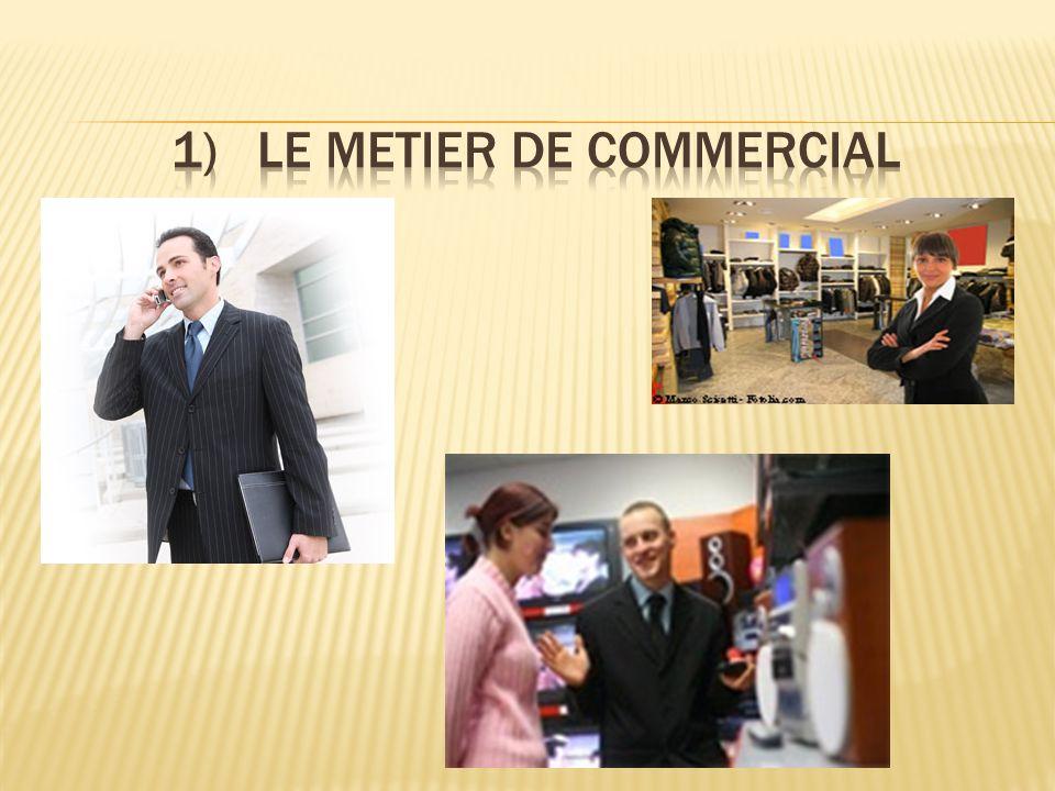  Commercialiser l'offre de l'unité commerciale auprès ses clients.