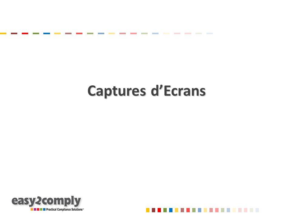 Captures d'Ecrans