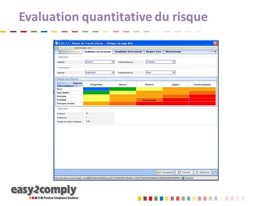 Evaluation quantitative du risque