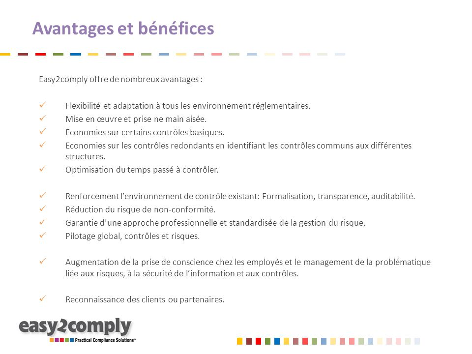 Projet d'accompagnement complet Charge globale: Projet « Risques » : 40 à 50 jours Modules suppl.