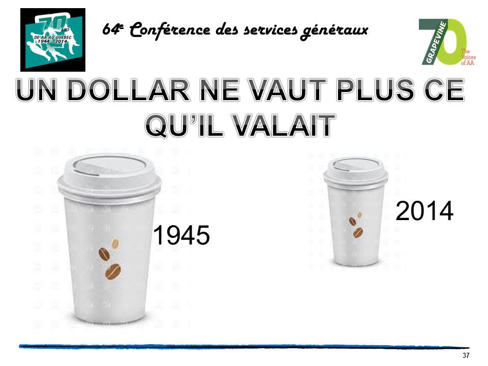 37 64 e Conférence des services généraux 1945 2014