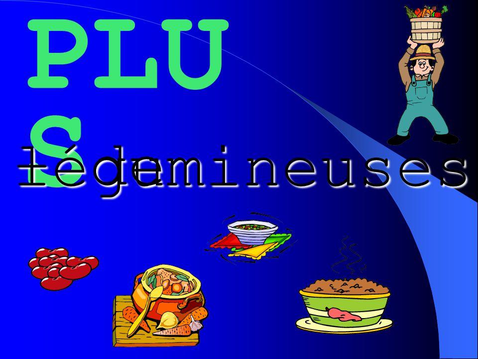 PLU S + de légumineuses