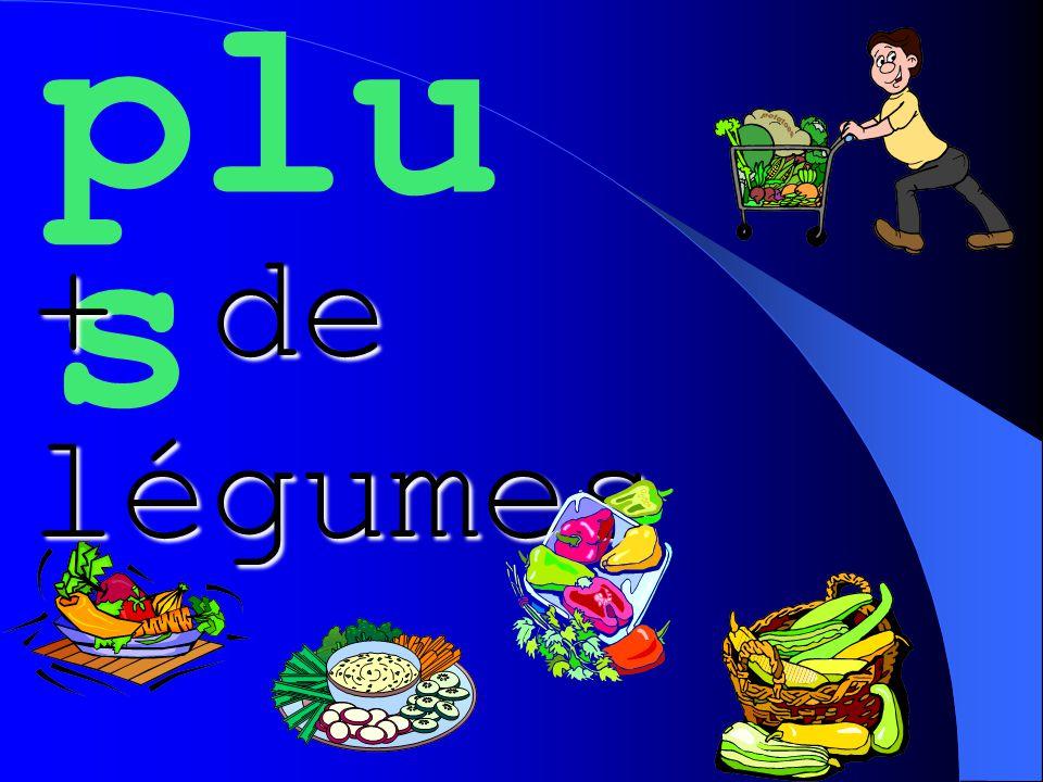 plu s + de légumes