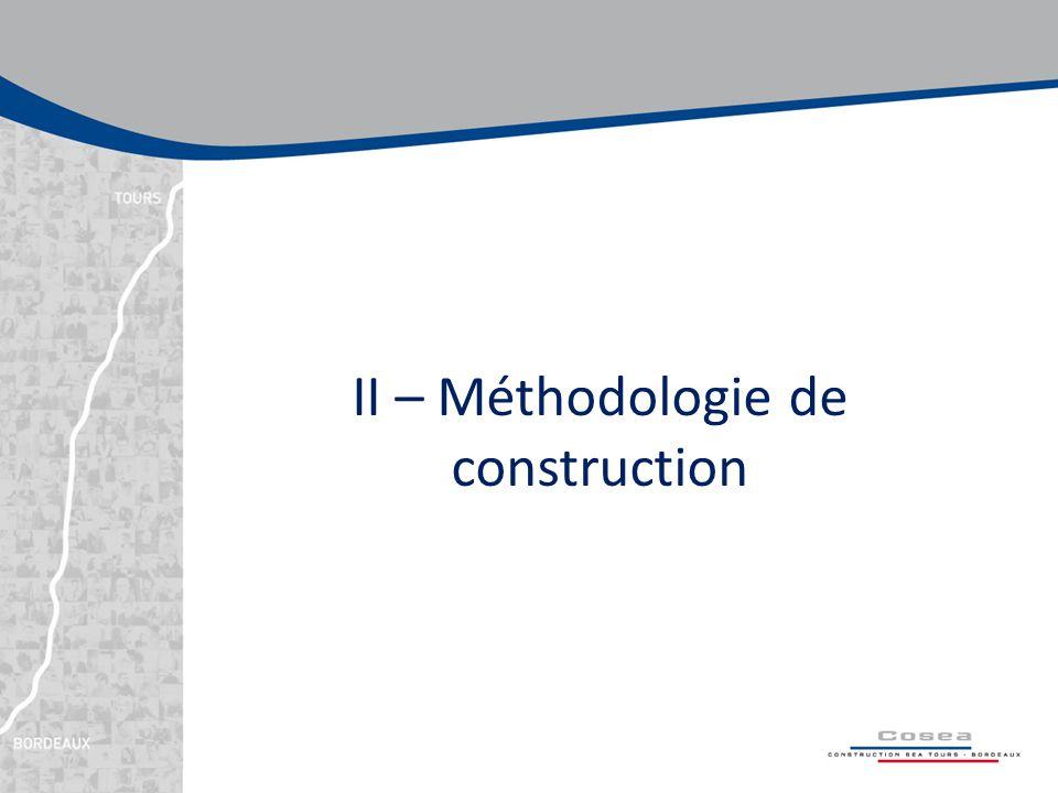 II – Méthodologie de construction