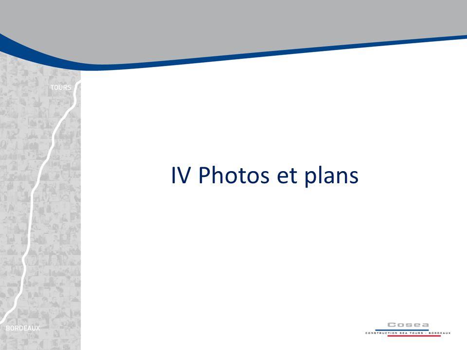 IV Photos et plans