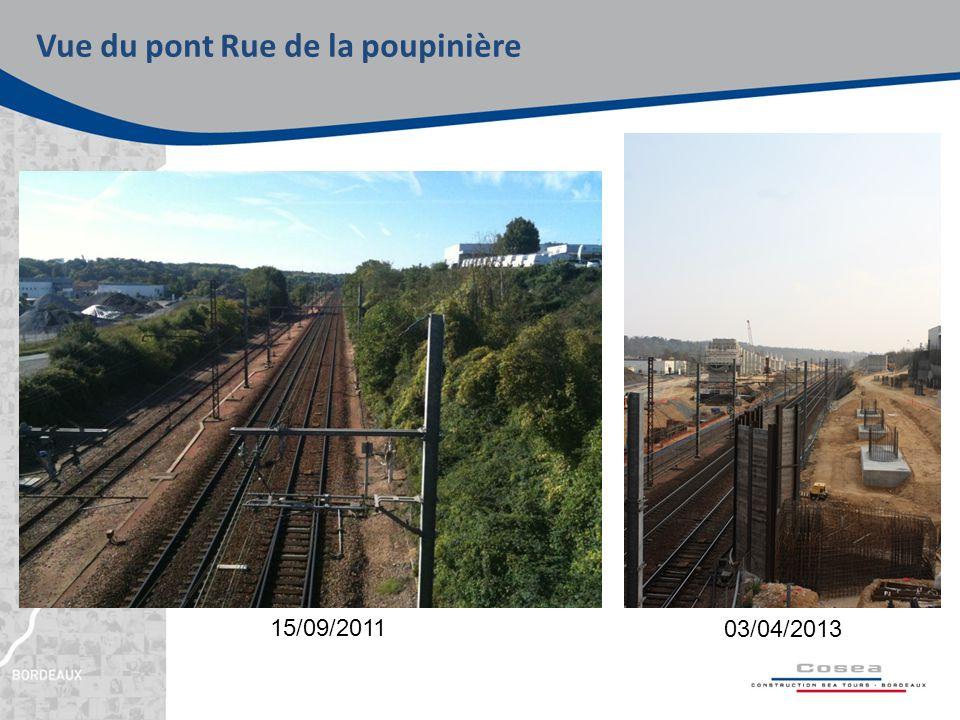 Vue du pont Rue de la poupinière 03/04/2013 15/09/2011