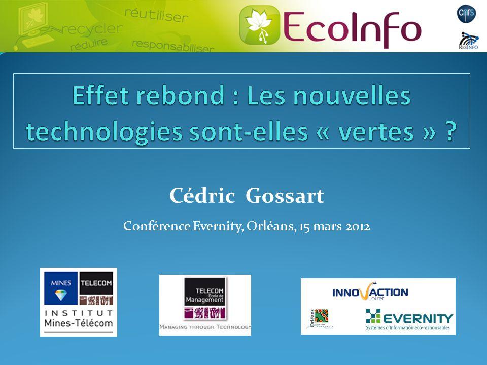 Cédric Gossart Conférence Evernity, Orléans, 15 mars 2012