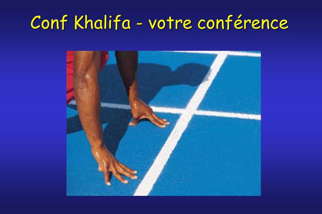 Conf Khalifa - votre conférence