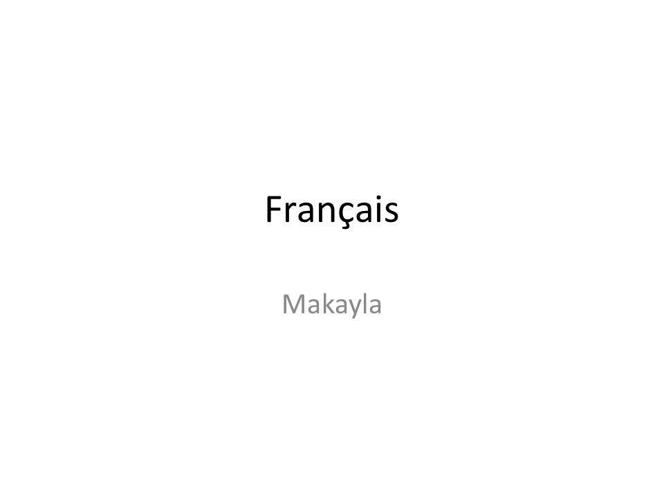 Français Makayla