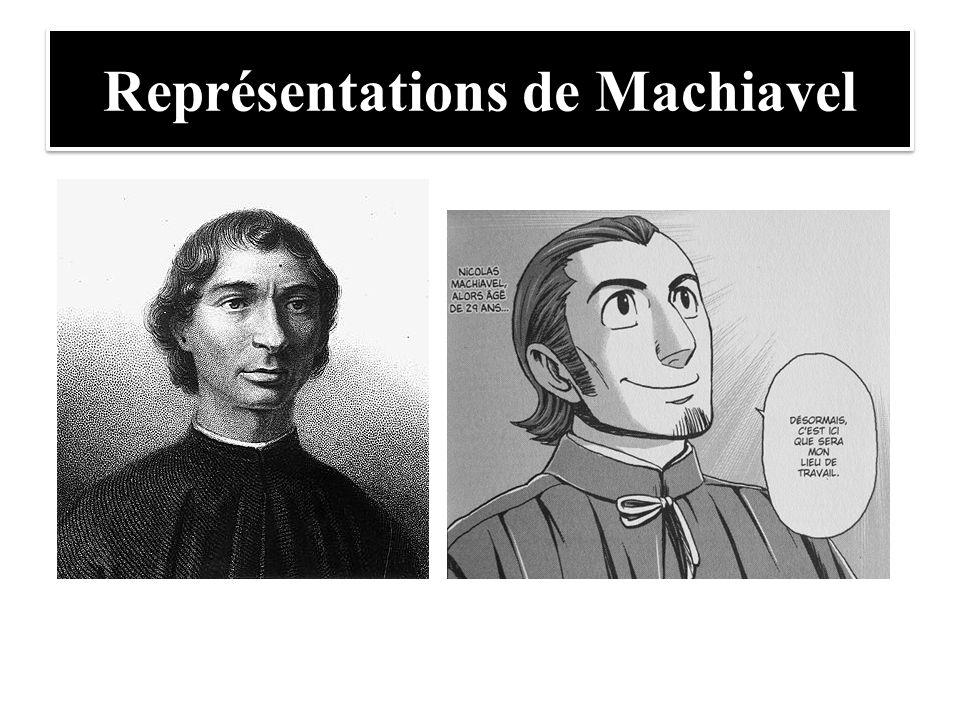 Représentations de Machiavel