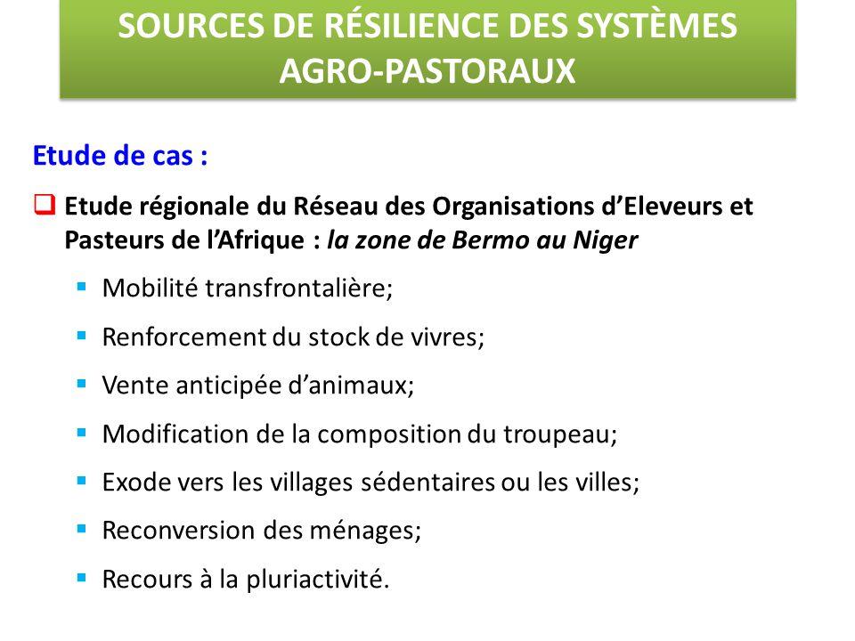 Etude de cas :  Etude régionale du Réseau des Organisations d'Eleveurs et Pasteurs de l'Afrique : la zone de Bermo au Niger  Mobilité transfrontaliè