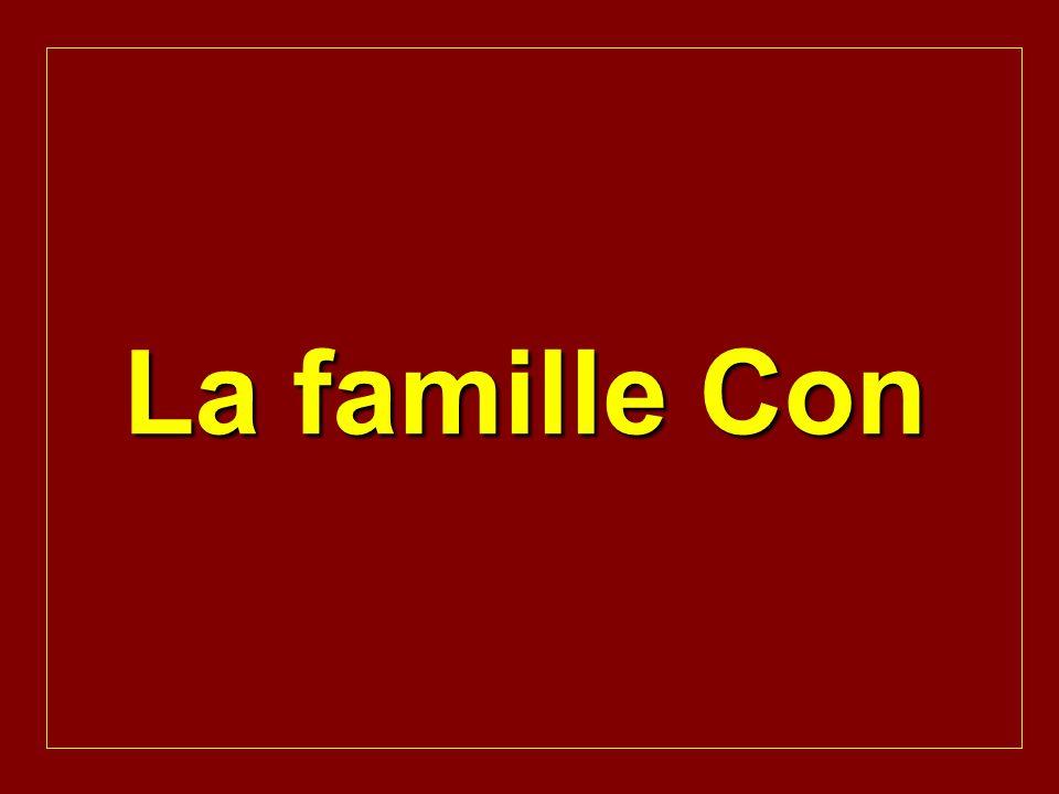 La famille Con