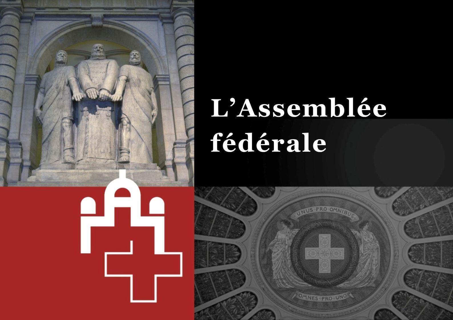 La procédure parlementaire 22L'Assemblée fédérale