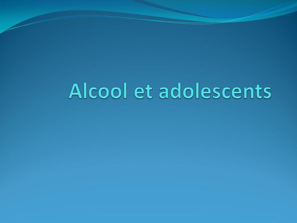 Pourquoi l'adolescent boit-il.