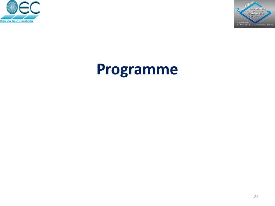 27 Programme