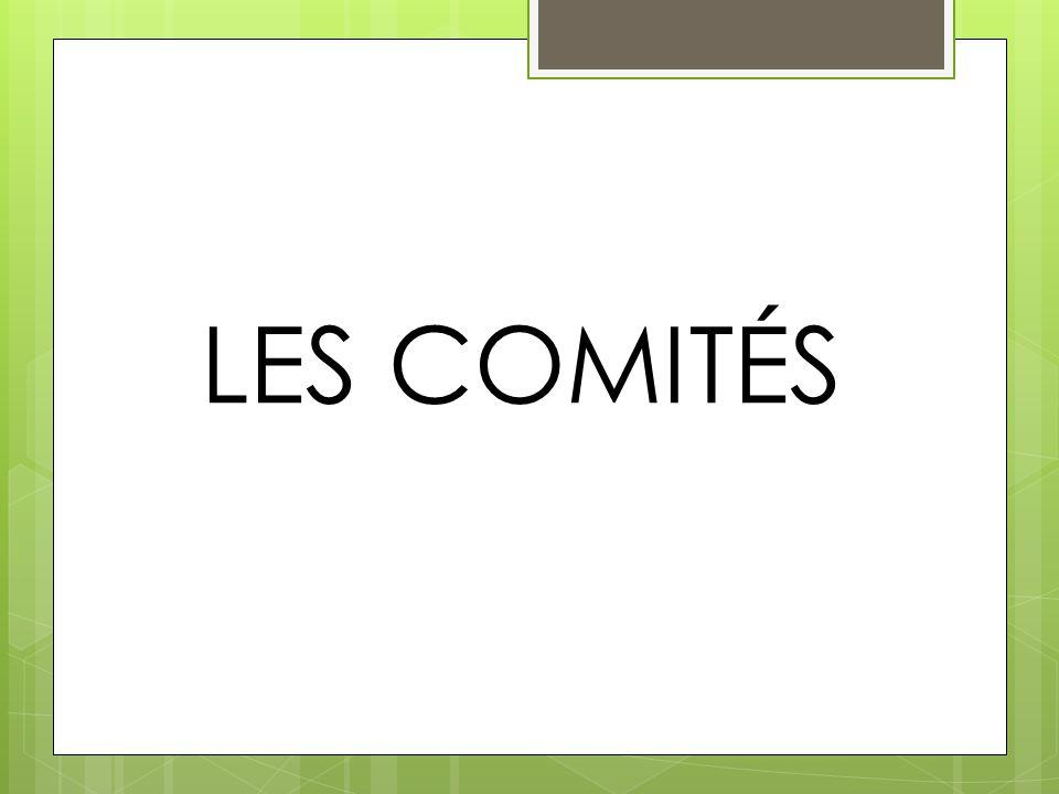 LES COMITÉS