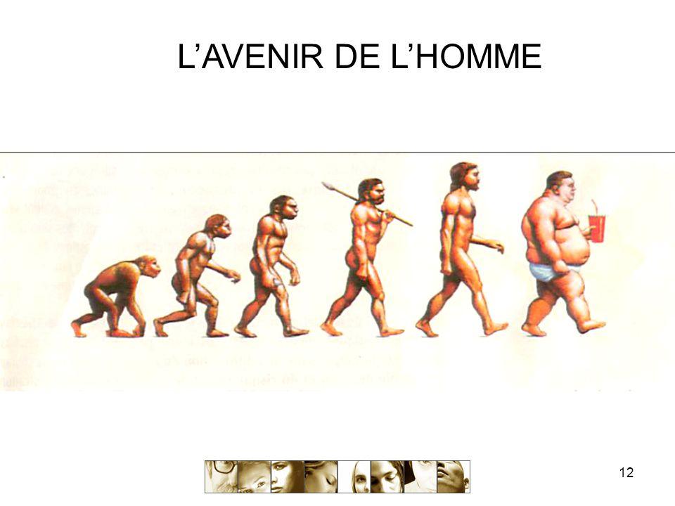 12 L'AVENIR DE L'HOMME